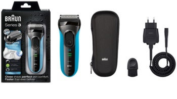 Braun Series 3  3045s Wet & Dry máquina de barbear