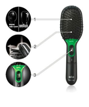 Braun Satin Hair 7 Iontec BR710 krtača za lase