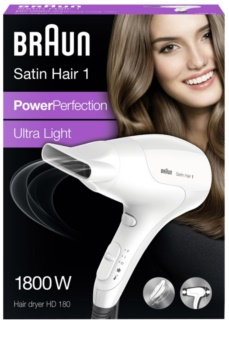 Braun Satin Hair 1 HD 180 suszarka do włosów