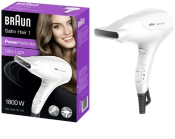 Braun Satin Hair 1 HD 180 Haarföhn