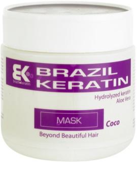 Brazil Keratin Coco keratínova maska pre poškodené vlasy