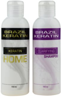 Brazil Keratin Home Cosmetic Set I. (For Unruly Hair)