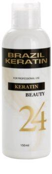 Brazil Keratin Beauty Keratin eine speziell pflegende Pflege für sanfteres Haar und die Regenerierung von beschädigtem Haar