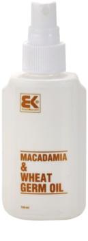 Brazil Keratin Macadamia & Wheat Germ Oil aceite para cabello y cuerpo