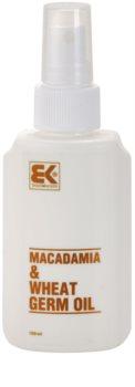 Brazil Keratin Macadamia & Wheat Germ Oil óleo para cabelo e corpo