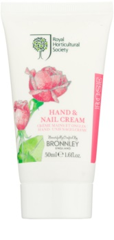 Bronnley Rose crema para manos y uñas