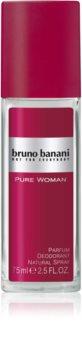Bruno Banani Pure Woman déodorant avec vaporisateur pour femme 75 ml
