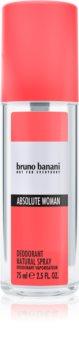Bruno Banani Absolute Woman Deo met verstuiver voor Vrouwen  75 ml