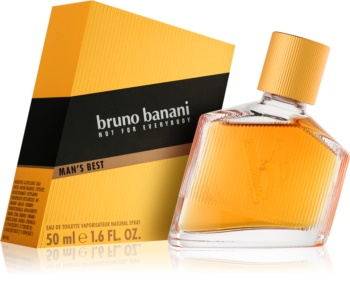 Bruno Banani Man's Best Eau de Toilette for Men 50 ml