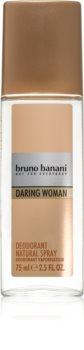 Bruno Banani Daring Woman Deo mit Zerstäuber für Damen 75 ml