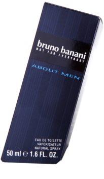 Bruno Banani About Men Eau de Toilette für Herren 50 ml