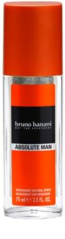 Bruno Banani Absolute Man Perfume Deodorant for Men 75 ml