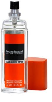 Bruno Banani Absolute Man desodorizante vaporizador para homens 75 ml