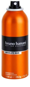 Bruno Banani Absolute Man deodorant Spray para homens 150 ml