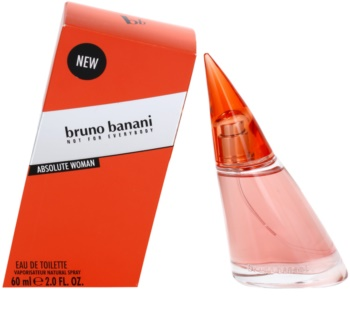 Bruno Banani Absolute Woman Eau de Toilette für Damen 60 ml