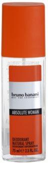 Bruno Banani Absolute Woman deodorant s rozprašovačem pro ženy 75 ml