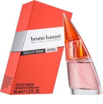 Bruno Banani Absolute Woman Intense Eau de Parfum para mulheres 40 ml