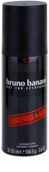Bruno Banani Dangerous Man déo-spray pour homme 150 ml