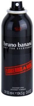 Bruno Banani Dangerous Man Deo Spray voor Mannen 150 ml