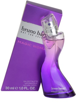 Bruno Banani Magic Woman Eau de Toilette für Damen 30 ml