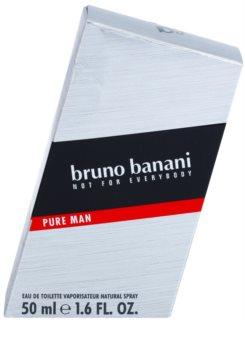 Bruno Banani Pure Man Eau de Toilette for Men 50 ml