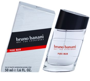 Bruno Banani Pure Man Eau de Toilette for Men 50 ml