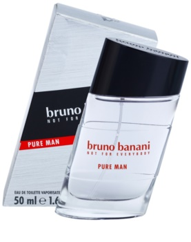Bruno Banani Pure Man Eau de Toilette voor Mannen 50 ml