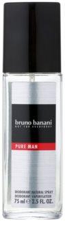 Bruno Banani Pure Man deodorant s rozprašovačom pre mužov 75 ml