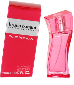 Bruno Banani Pure Woman Eau de Toilette for Women 20 ml