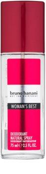 Bruno Banani Woman's Best deodorant s rozprašovačom pre ženy 75 ml
