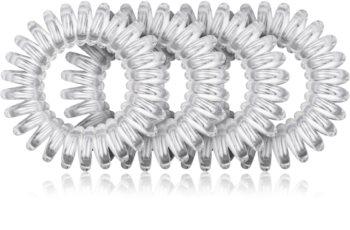 BrushArt Hair Rings transparentna elastika za lase