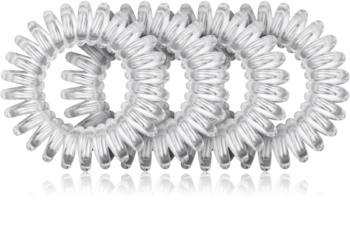 BrushArt Hair Rings прозора гумка для волосся