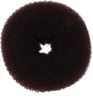 BrushArt Hair Donut Duttkissen braun