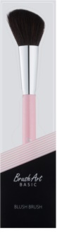 BrushArt Basic Pink pensula pentru  aplicare fard obraz