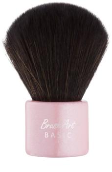 BrushArt Basic Pink čopič za ličenje Kabuki