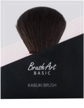 BrushArt Basic Pink Kabuki-Schminkpinsel