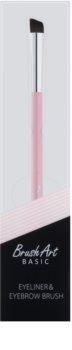 BrushArt Basic Pink szemhéjtus és szemöldök ecset