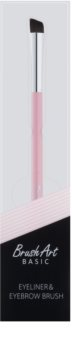 BrushArt Basic Pink пензлик для нанесення підводки та брів