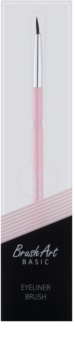 BrushArt Basic Pink štetec na očné linky