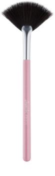 BrushArt Basic Pink oprašovací štětec – vějíř