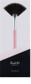 BrushArt Basic Pink pinceau pour balayer les chutes de pigments – éventail