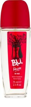 B.U. Passion deodorant s rozprašovačom pre ženy 75 ml