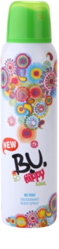 B.U. Hippy Soul deodorant spray para mulheres 150 ml
