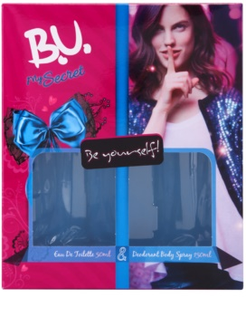 B.U. My Secret darčeková sada III.