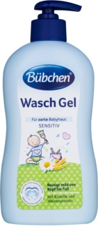 Bübchen Wash gel de limpeza com extratos de camomila e aveia