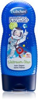 Bübchen Kids šampon a sprchový gel 2 v 1 pro děti