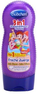 Bübchen Kids шампунь, кондиціонер та гель для душу 3в1