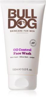 Bulldog Oil Control gel de limpeza para rosto