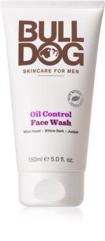 Bulldog Oil Control gel nettoyant détoxifiant visage