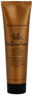 Bumble and Bumble Brilliantine Creme für Glanz auf trockenem und brüchigem Haar